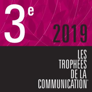 trophées de la communication - 3e place